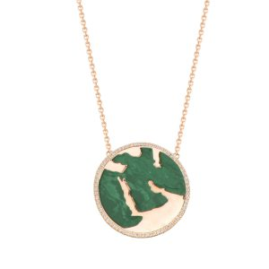 My World Special Necklace, Malachite
